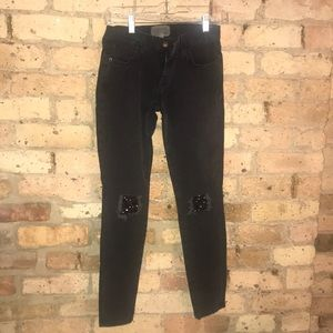 Current/Elliott black jeans